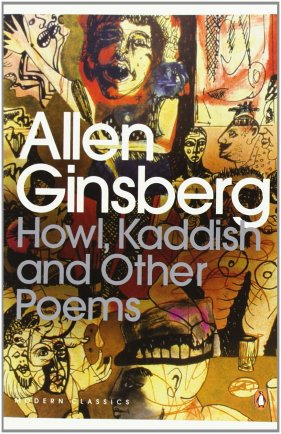 Ginsberg Poetry Book Cover