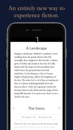 Interactive Fiction App Arcadia, Iain Pears