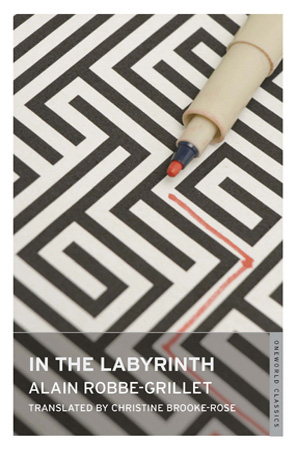 Book Cover Of In The Labyrinth By Grillet